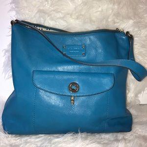 Kate Spade turquoise blue shoulder bag